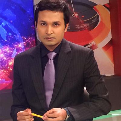 News Presenter Sayem Raihan